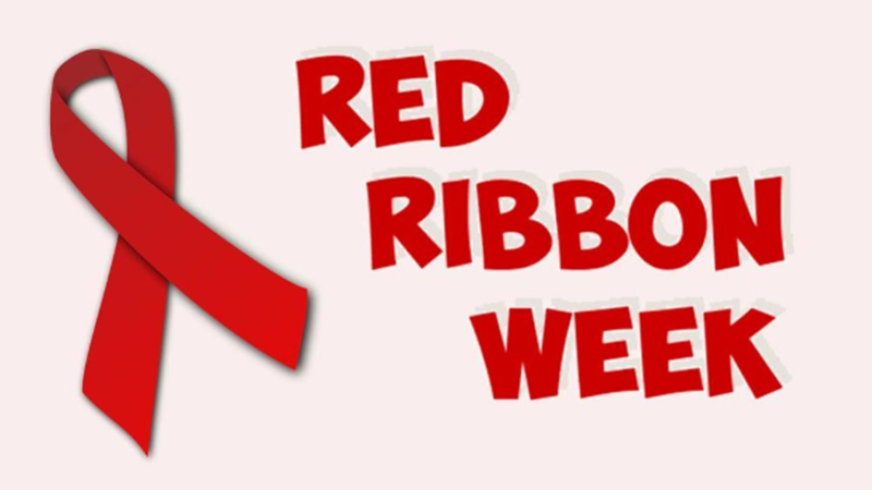Poster for Red Ribbon Week