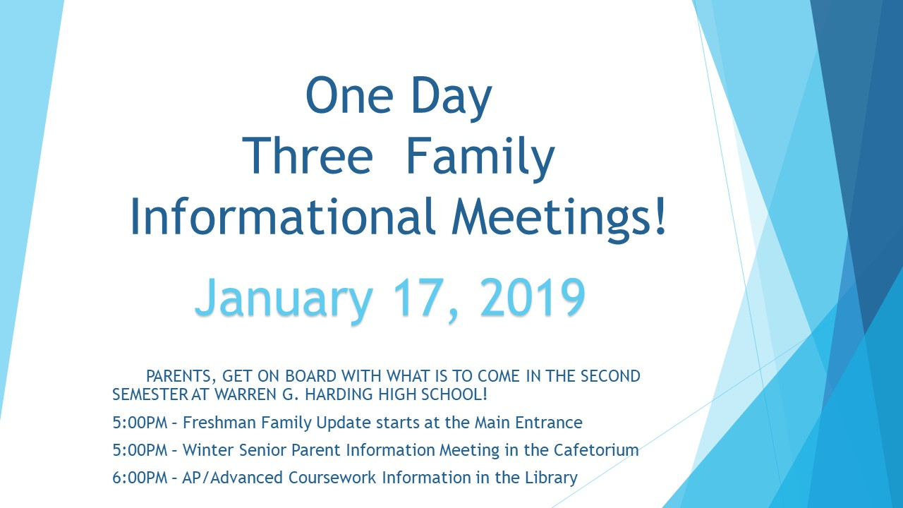 One Day, Three Meetings