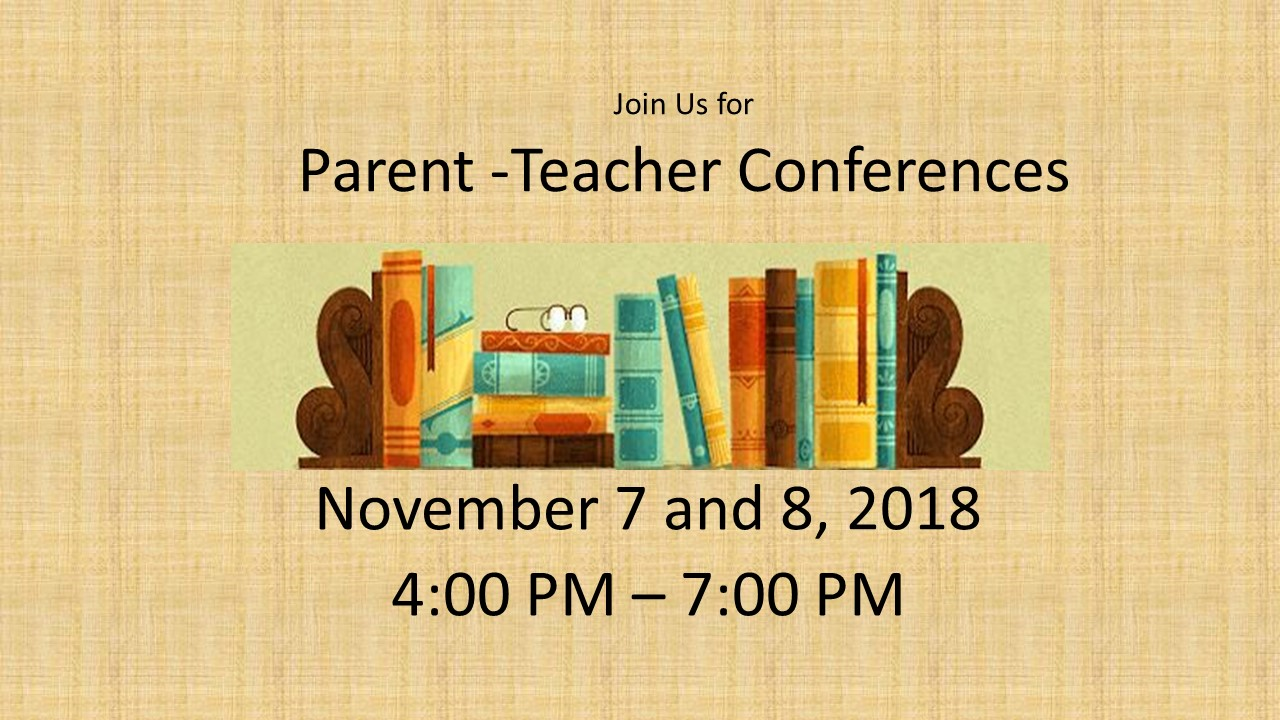 Sign Up for Parent-Teacher Conferences!