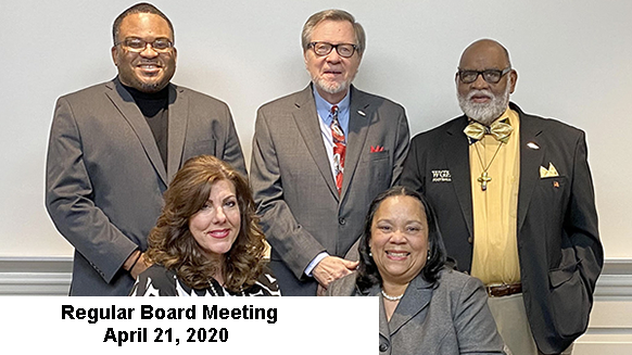 Board Meeting Update 4-20-20