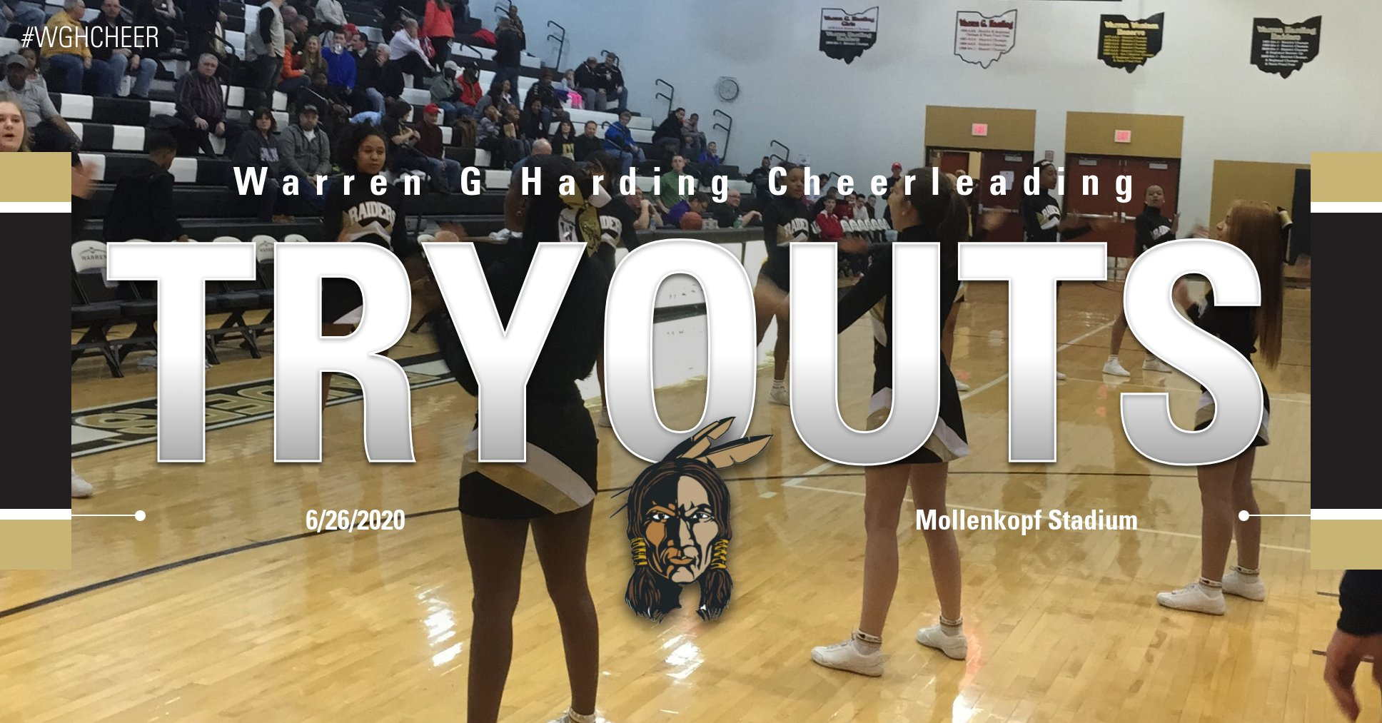 Warren G. Harding Cheerleader Tryouts