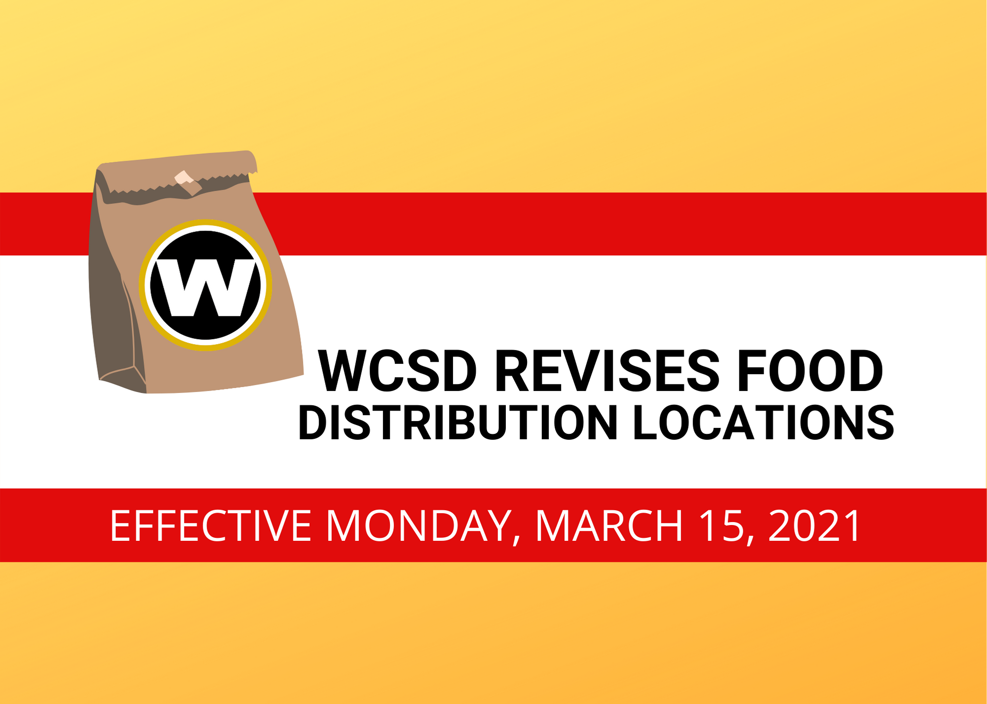 Warren City Schools Announce New Food Distribution Sites & Times